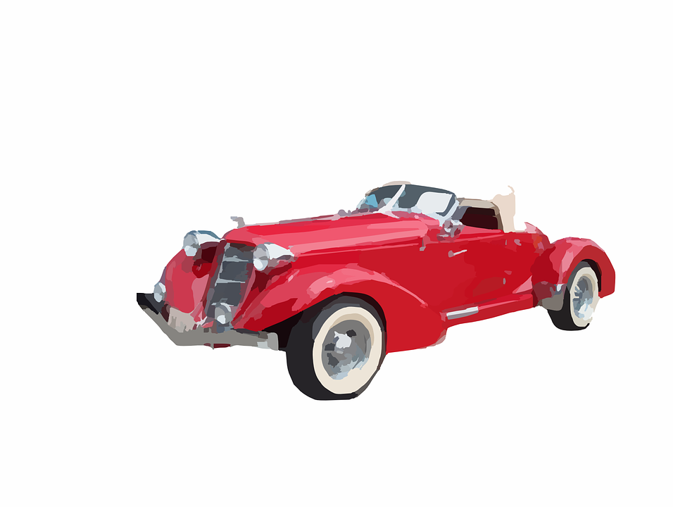 Vintage Car, Car, Automobile, 50s, Shiny, Nostalgia