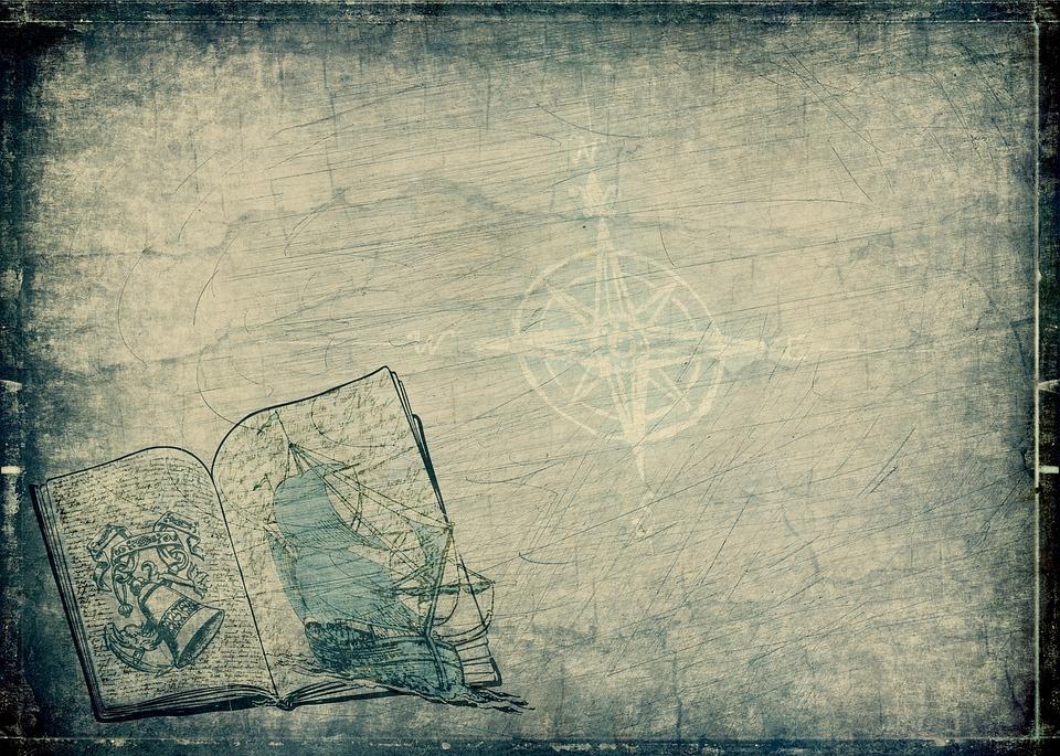 Ship, Book, Anchor, Compass, Boot, Sailing Boat