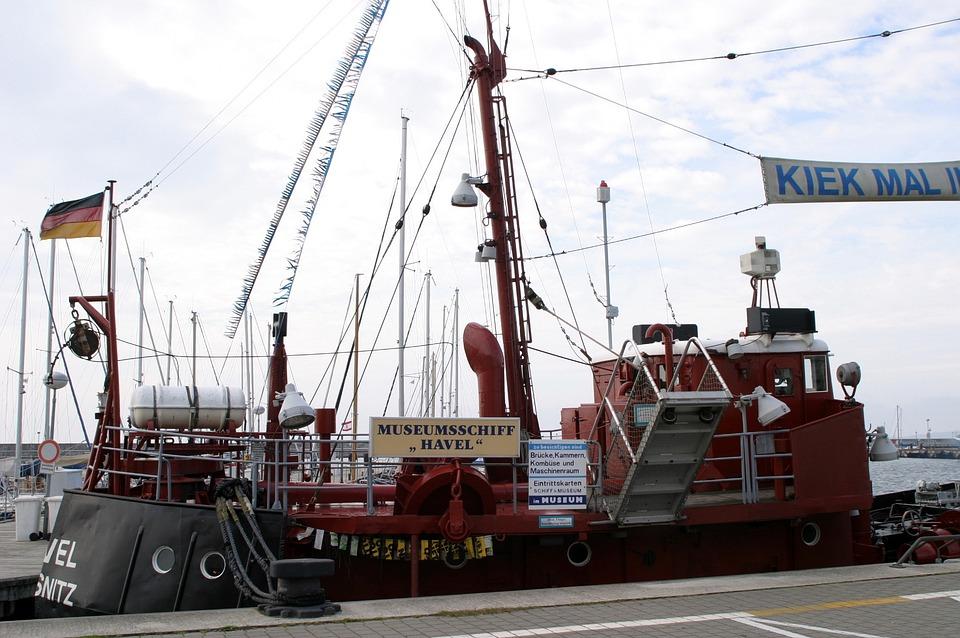 Rügen Island, Excursion Ship, Ship, Baltic Sea