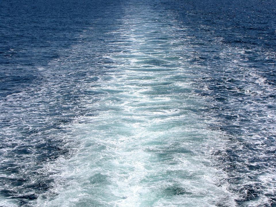 Ferry, Water, Travel, Ocean, Blue, Ship