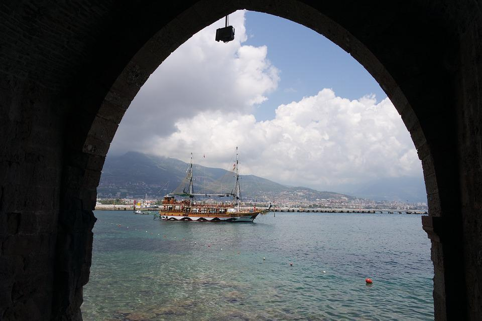 Boat, Alanya, Ship