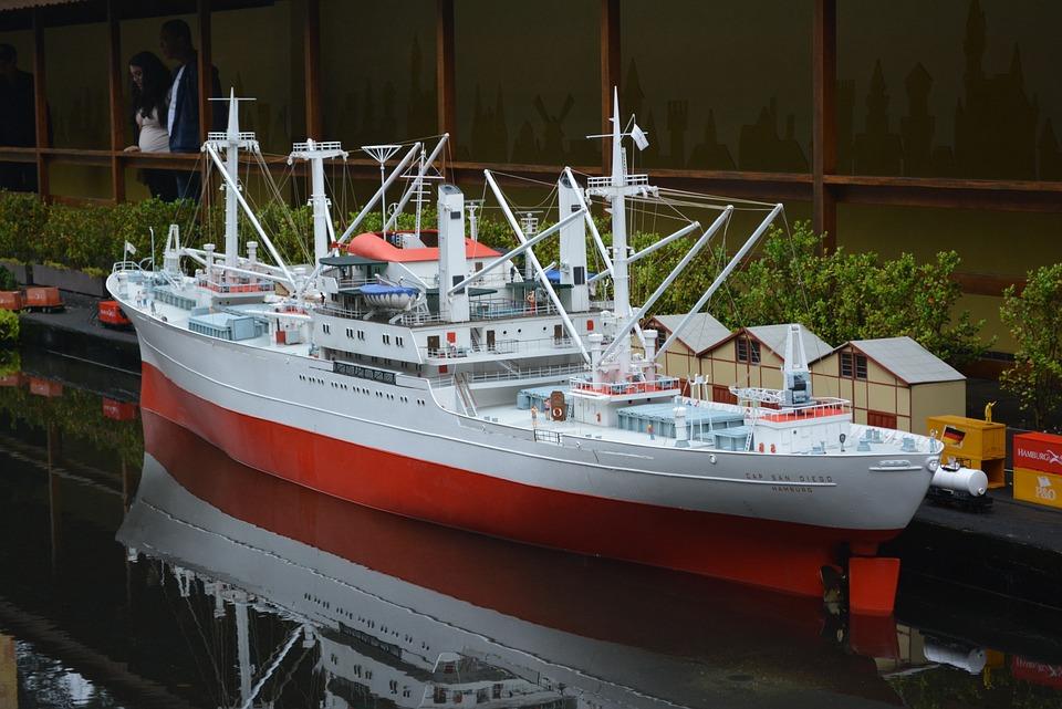 Ship, Miniature, Boat