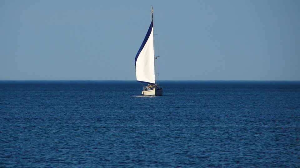Sailing Vessel, Sea, Denmark, Water, Ship, Sail, Boat