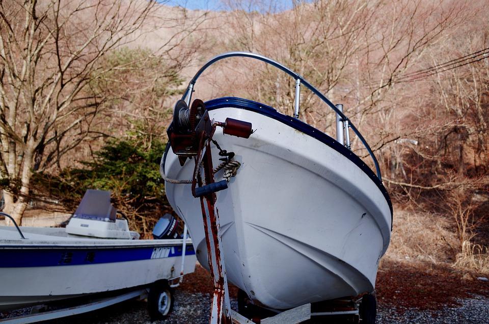 Ship, Boat, Winter
