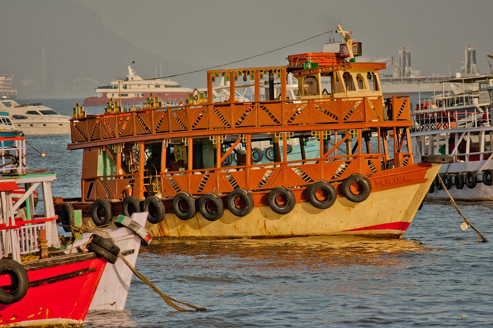 Ferry, Old, India, Mumbai, Ship, Boats