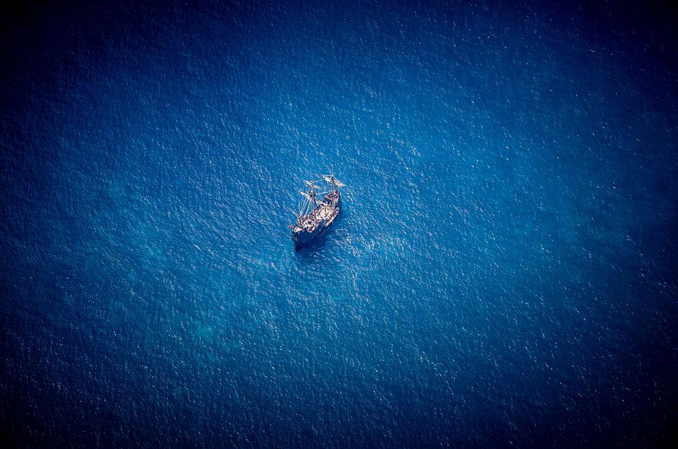 Madeira, Sea, Ship, Water, Ocean, Summer, Boot