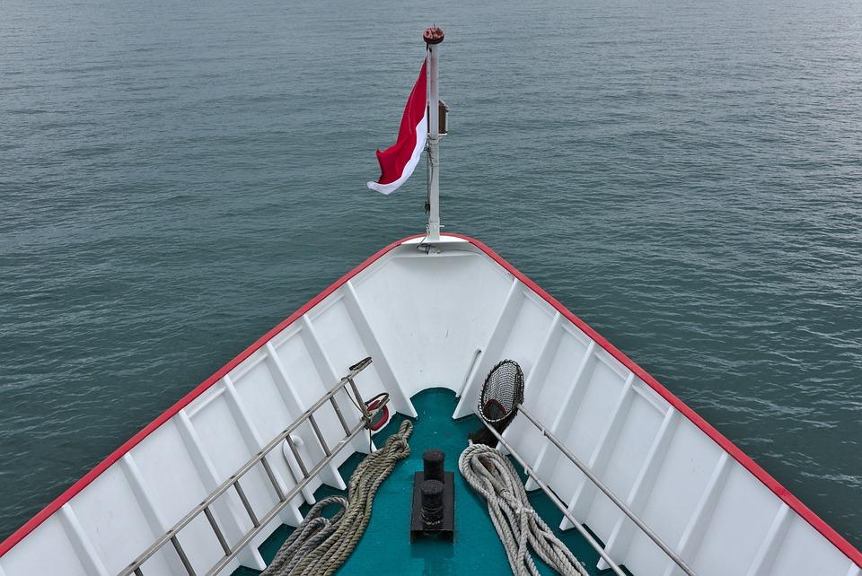 Ship, Bug, Lake, Water, Exit