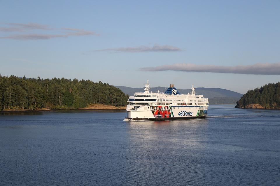 Bc Ferries, British Columbia, Canada, Ferry, Ship