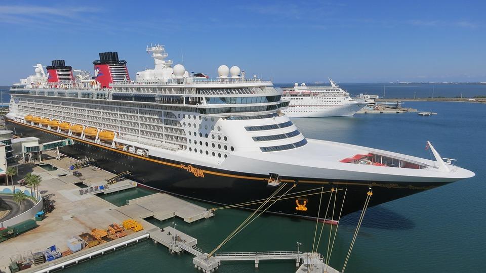 Free Photo Ship Cruise Ship Disney Dream Port Canaveral Disney - Cruise ships port canaveral