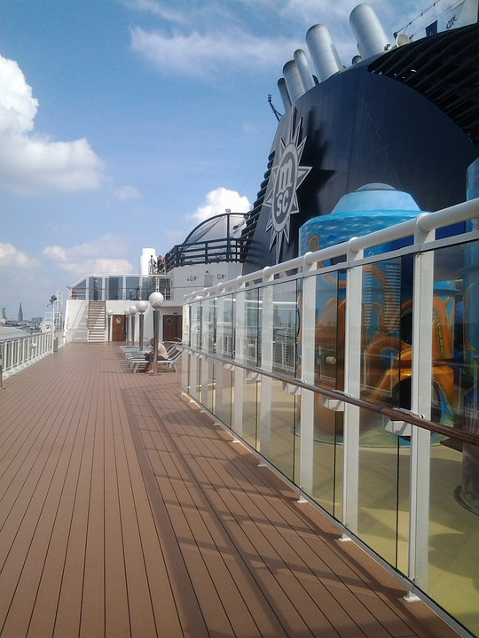 Ship Deck, Ship, Cruise, Travel, Deck