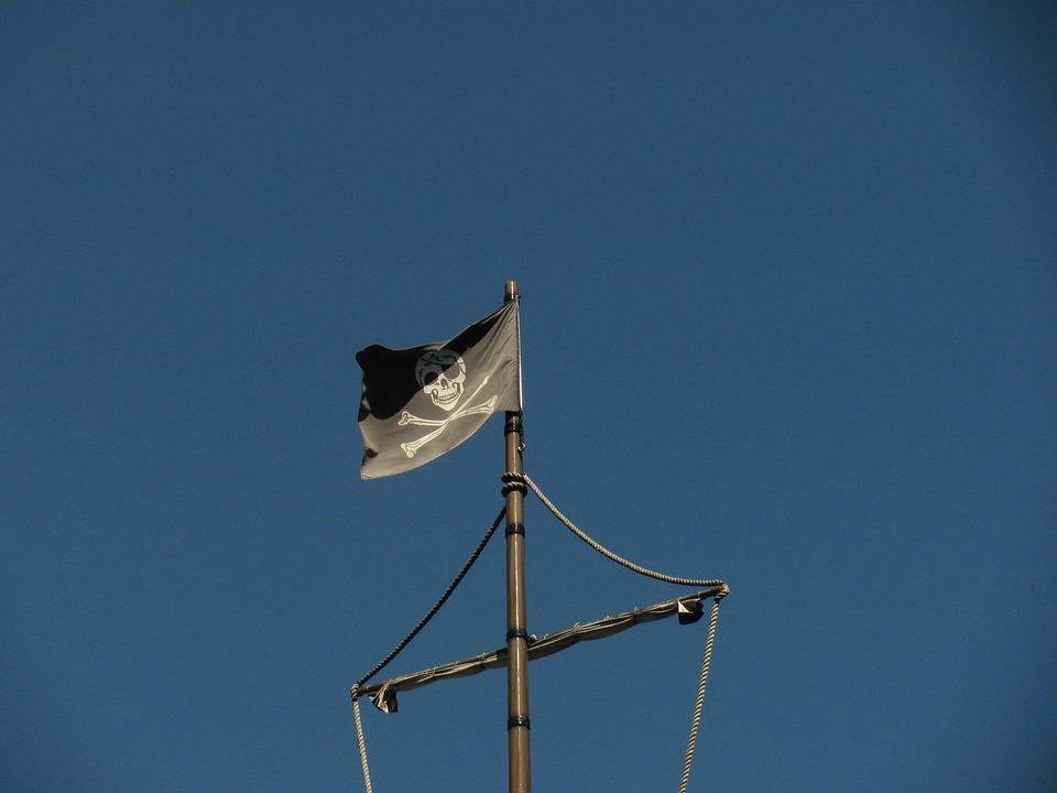 Flag, Pirates, Skull, Ship, Danger, Warning, Nautical