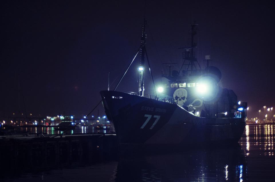Ship, Nature, Docks, Pirate, Sea Shepherd, Steve Irwin