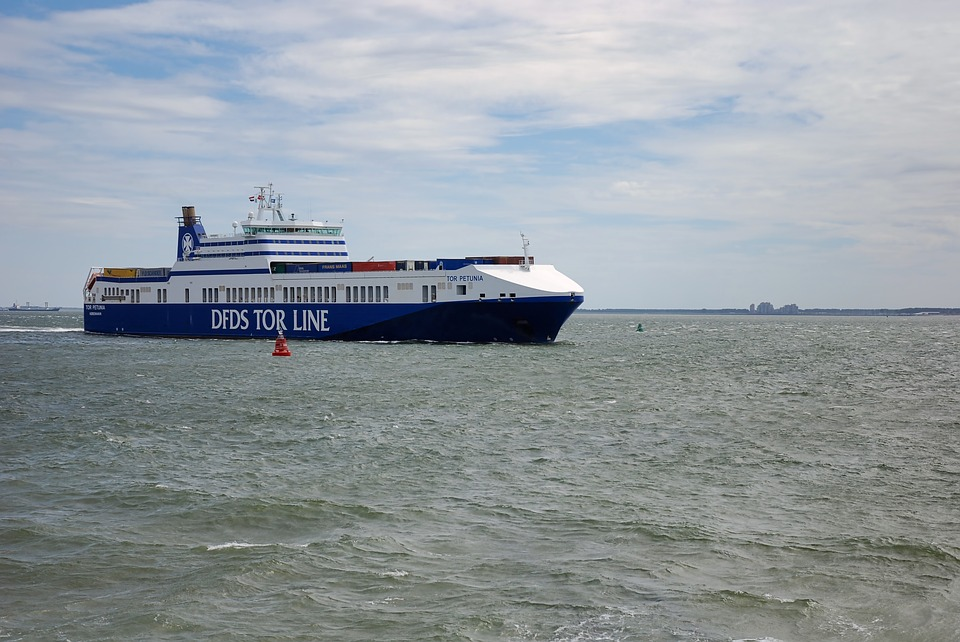 1d48a7b57d7 Free photo Ship Ferry Sea Vlissingen Container North Sea - Max Pixel