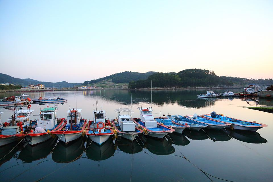 Liquidation Is Also, Port, Fishing Boats, Times, Ship