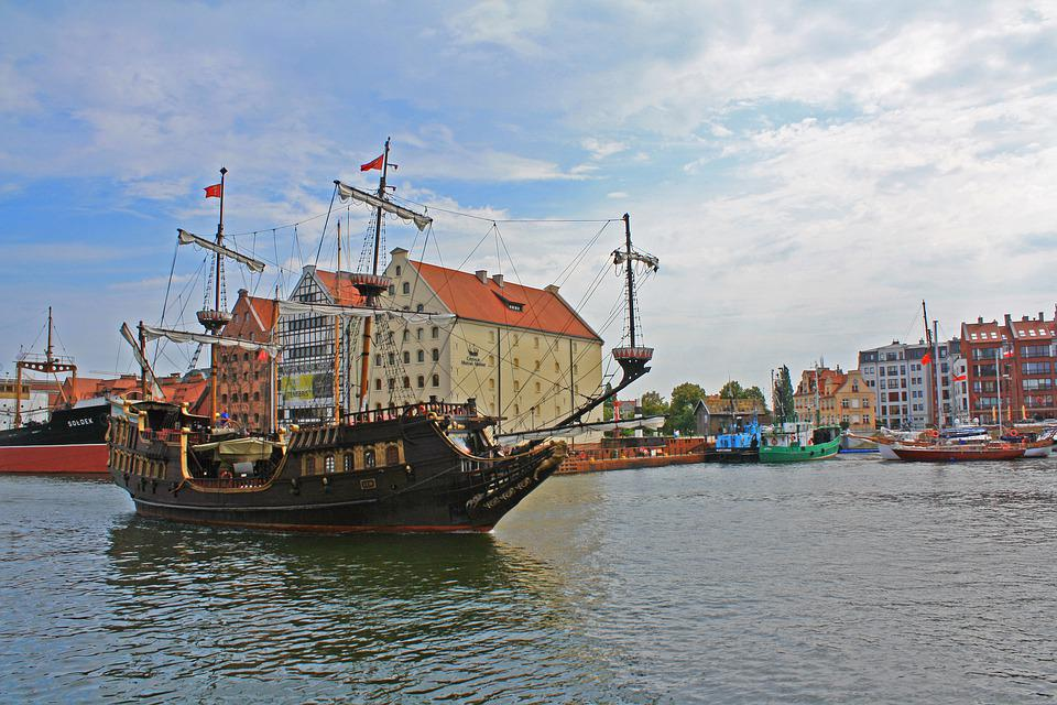 Gdansk, Ship, Pirate, Poland, Tourism, Sea, Ships