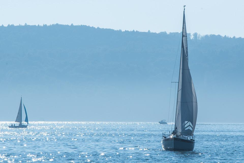 Sailing Boat, Lake Constance, Ship, Idyll, Water, Lake