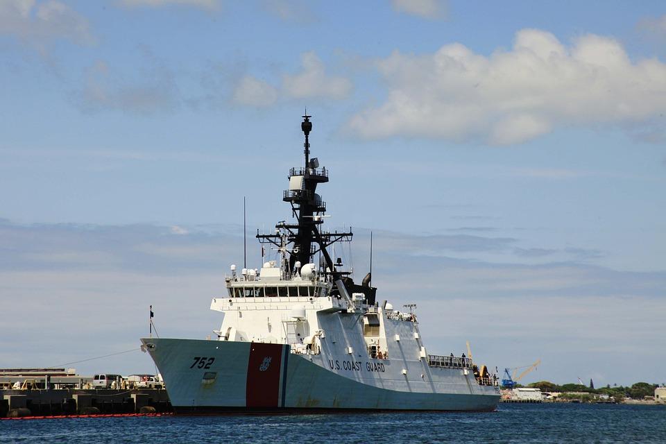 Coast Guard, Ship Ocean, Sea, Vessel, Maritime, Port