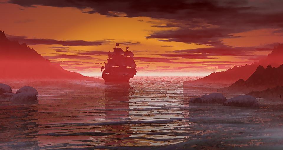 Ship, Ocean, Vessel, Sea