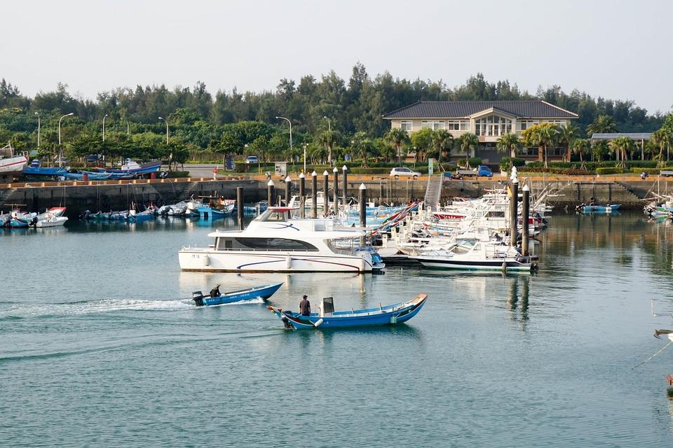 Fish Man, Outdoor, Activity, Fish, Boat, Ship, Wave