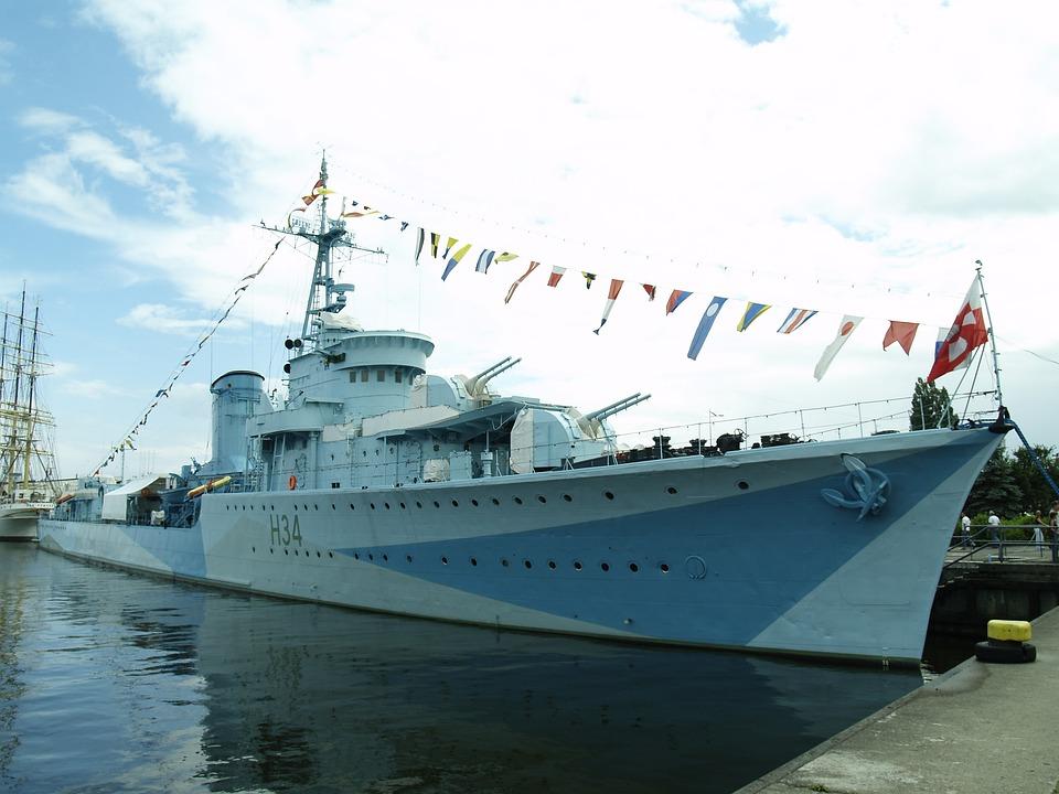 Gdynia, Ship, Corp, Port, Poland