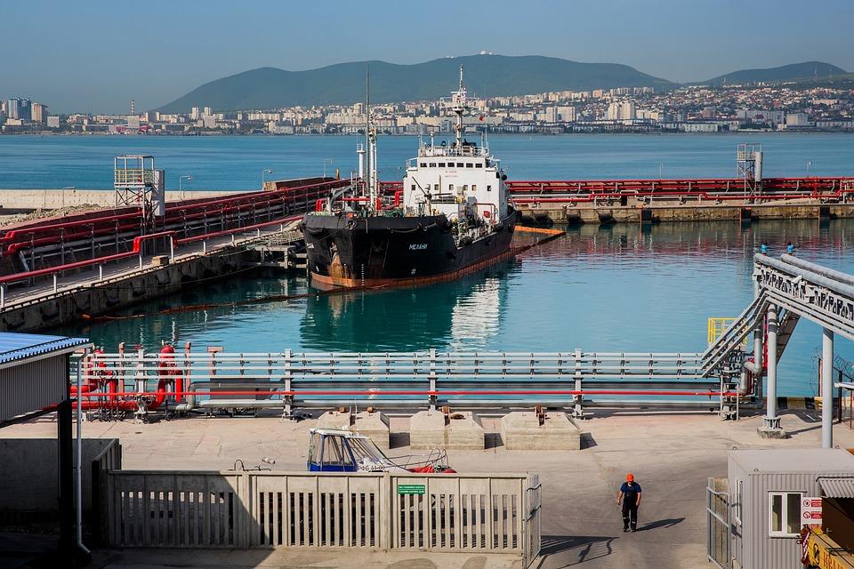 Port, Novorossiysk, Black Sea, Sea, Ship