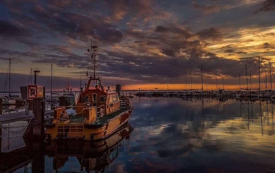 Pilot Boat, Port, Island, Baltic Sea, Pilot, Ship, Boat