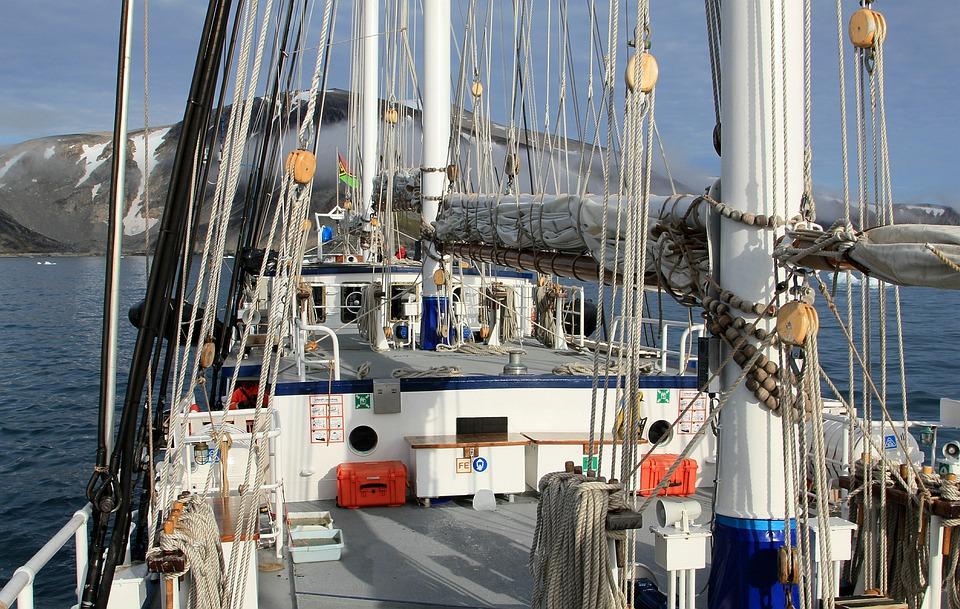 Ship, Sailboat, Rep, Block, Boat, Sea, Boom