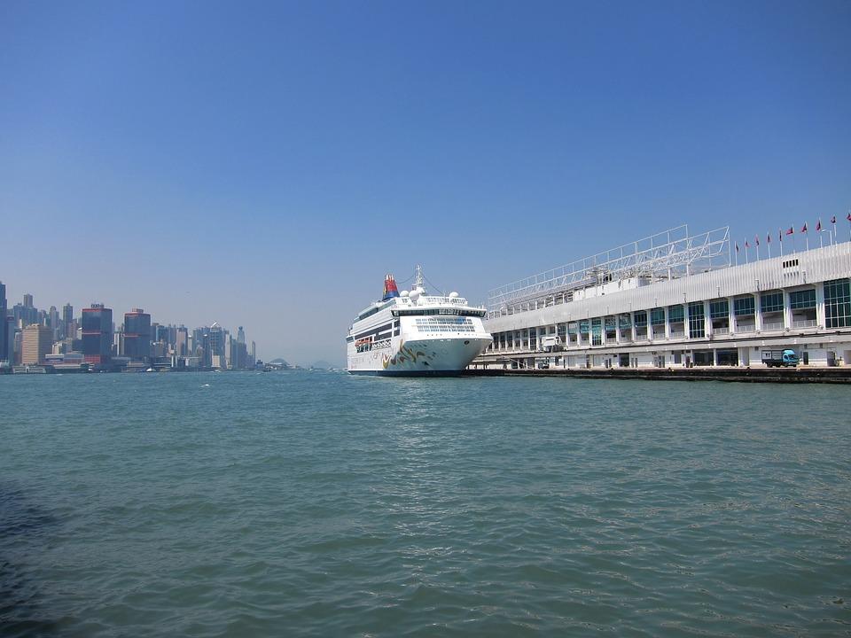 Hong Kong, Riverview, Ship