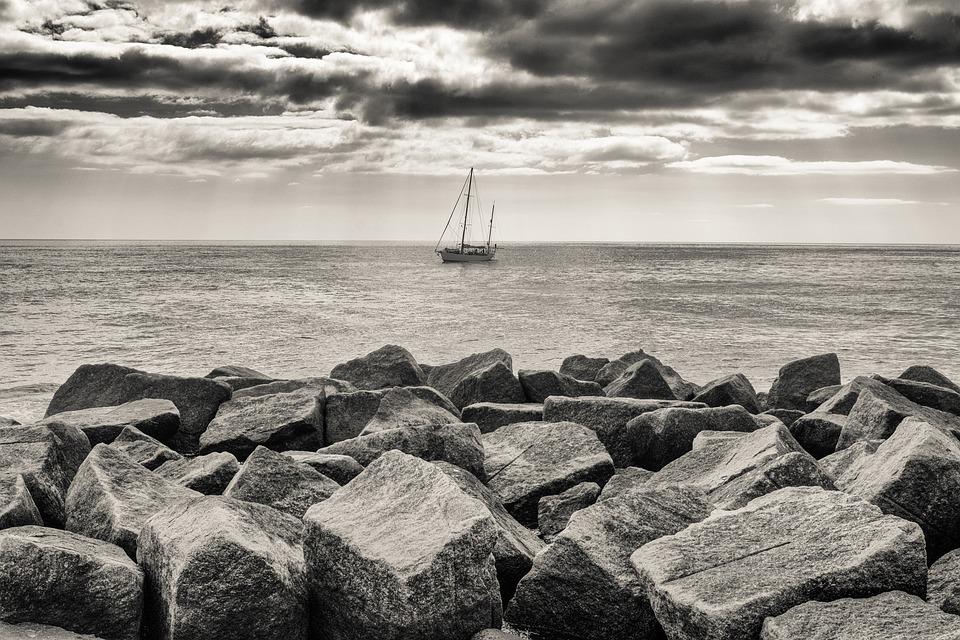 Sailing Boat, Boat, Coast, Ship, Sail, Ocean, Nature
