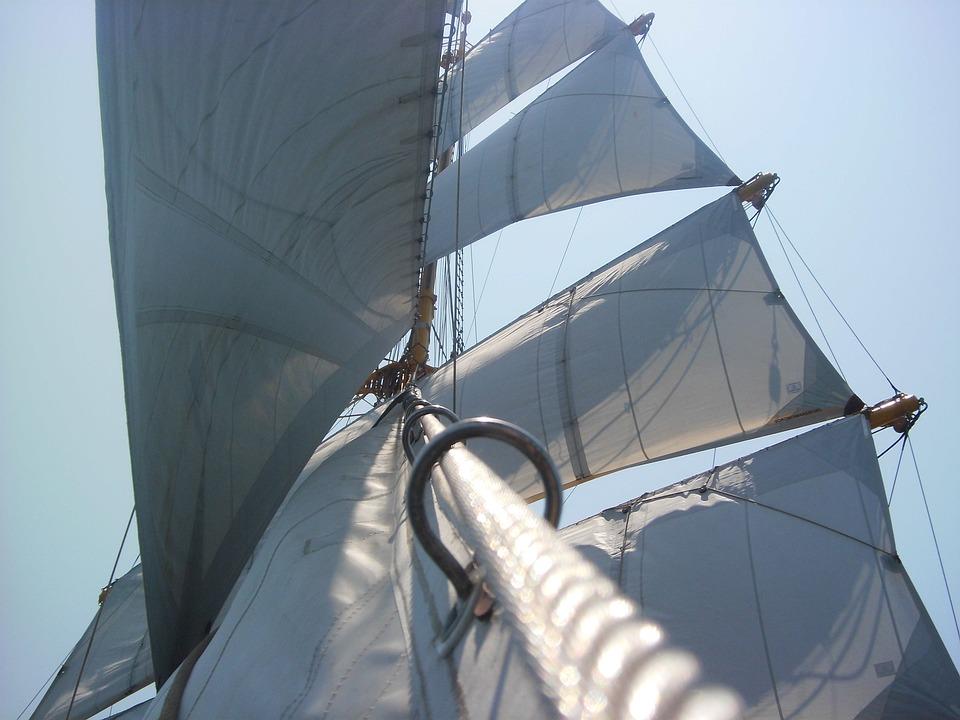 Tall Ship, Ship, Sailing Ship