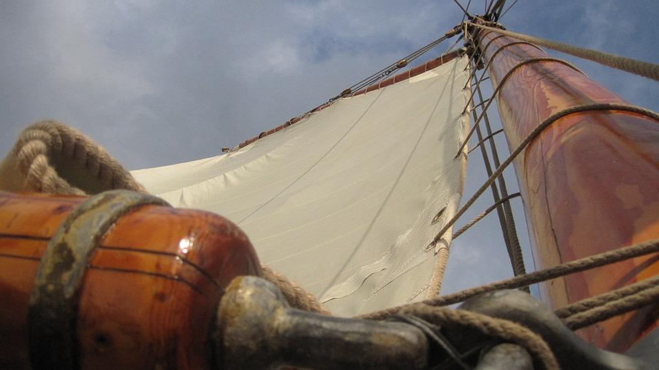 Sail, Ship, Sailing Vessel, Mast, Old, Pirate Ship