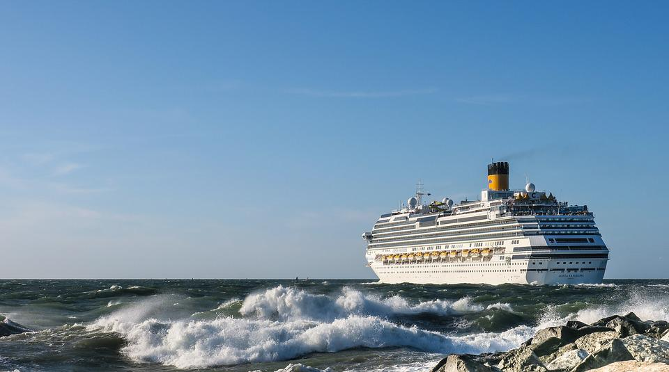 Ship, Costa Favolosa, Cruises, Tourists, Ship Travel