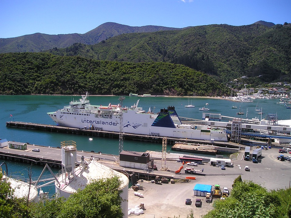 New Zealand, Port, Ship, Boot, South Island