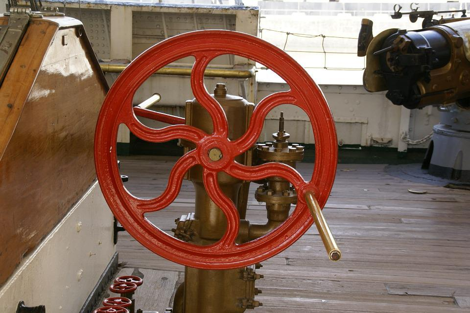 Museum, Ship, Buenos Aires, Steering Wheel