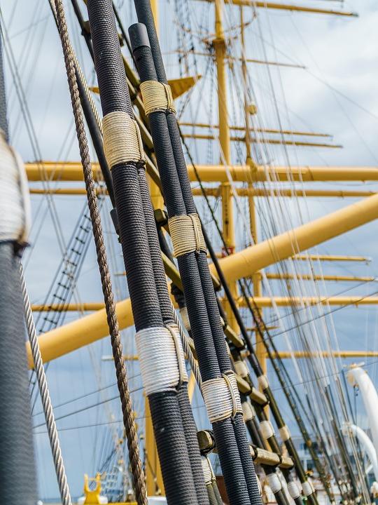 Travemünde, Passat, Four Master, Ship, Baltic Sea, Lake