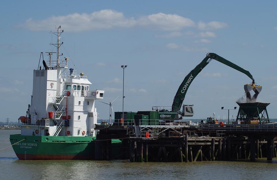 Ship, Cargo, Industry, Arklow, Venus, Freight