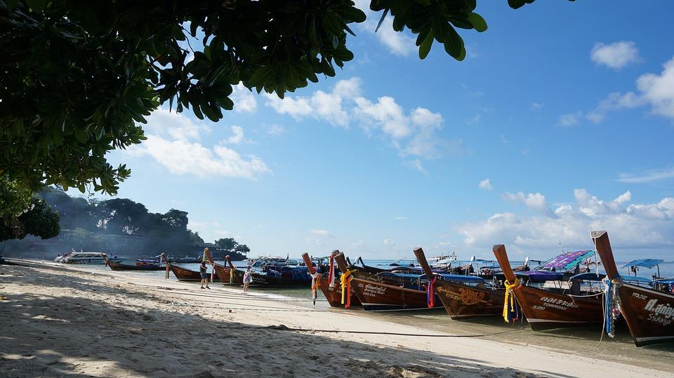 Phi Phi Island, Man Of Steel, Ship, View, Sharon Lewis