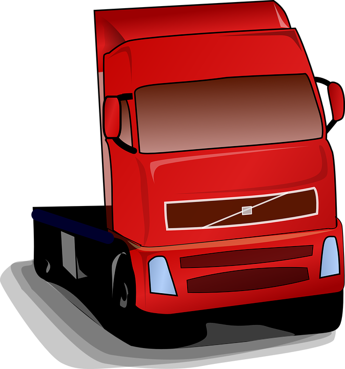 Truck, Semi, Freight, Transportation, Shipping, Vehicle