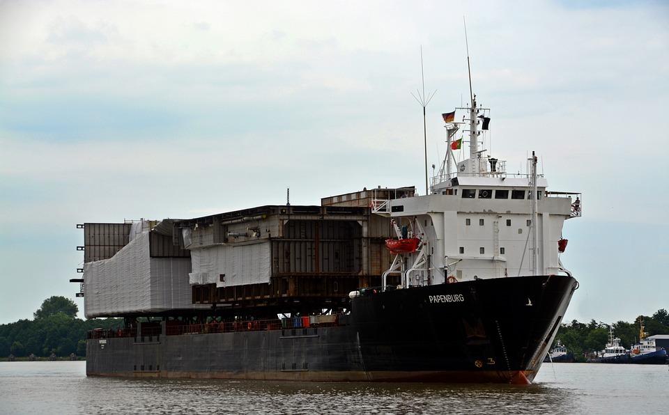 Ship, Transport, Heavy Duty, Shipping
