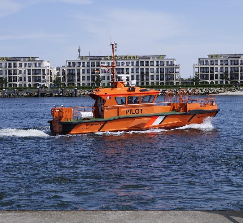 Pilot, Pilot Boat, Shipping, Transport System