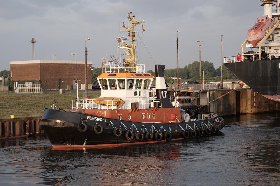 Shipping, Seafaring, Tug, Towing Vessel, Maritime