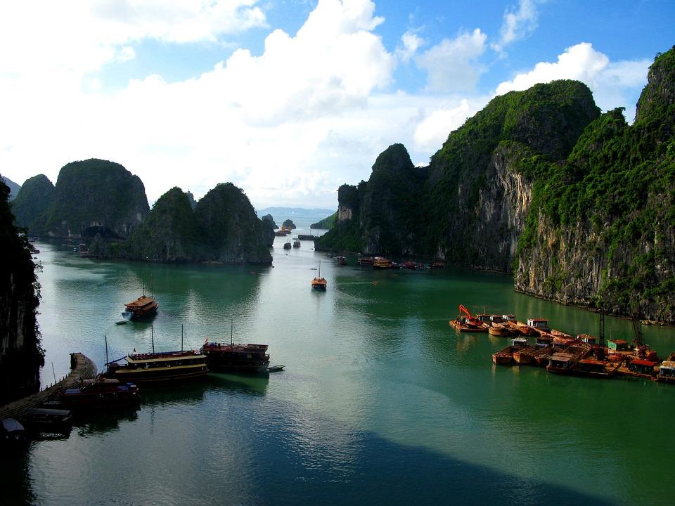 Ha Long Bay, Sea, Water, Ship, Ships, Boat, Boats