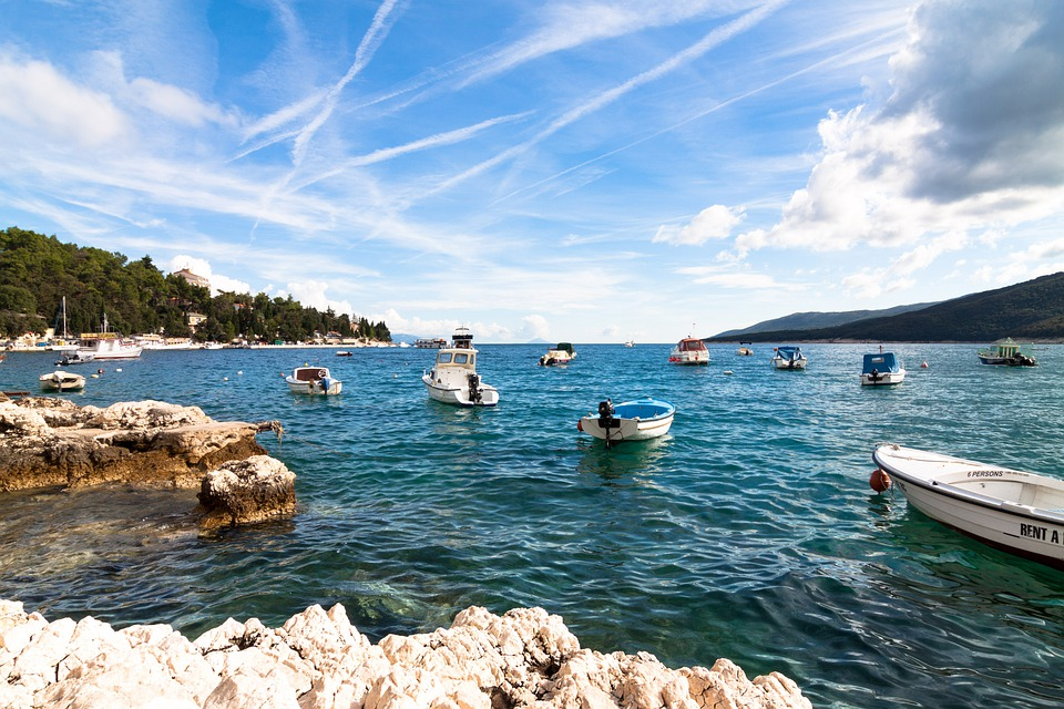 Croatia, Sun, Sea, Water, Ships