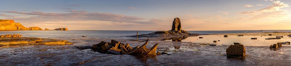 Yorkshire, Shipwreck, Admiral Von Tromp, Saltwick Bay