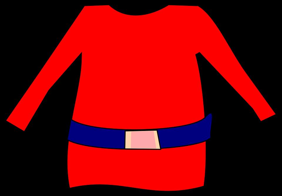 Elf, Red, Shirt, Gnome, Dwarf, Clothing