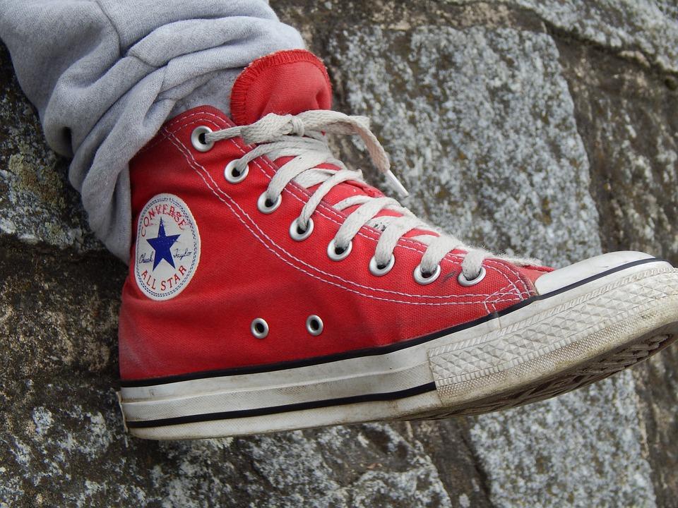 Shoe, Red, Boy, Foot