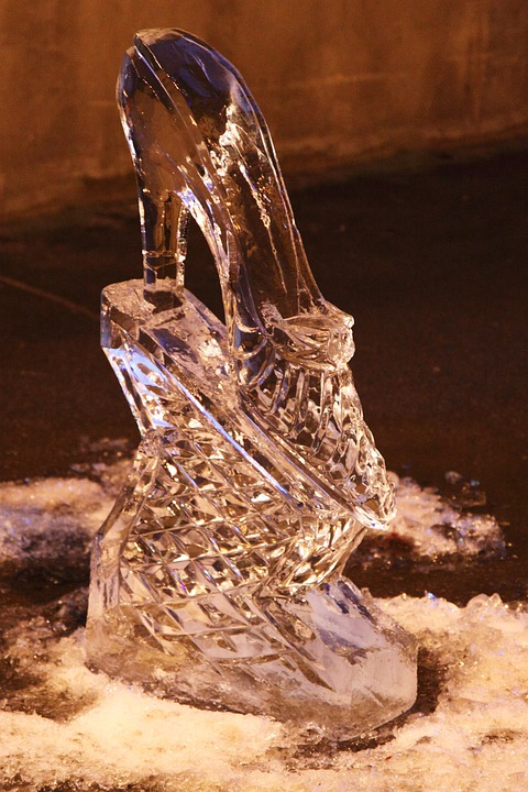 Cold, Crystal, Frost, Frozen, Ice, Shoe, Sculpture