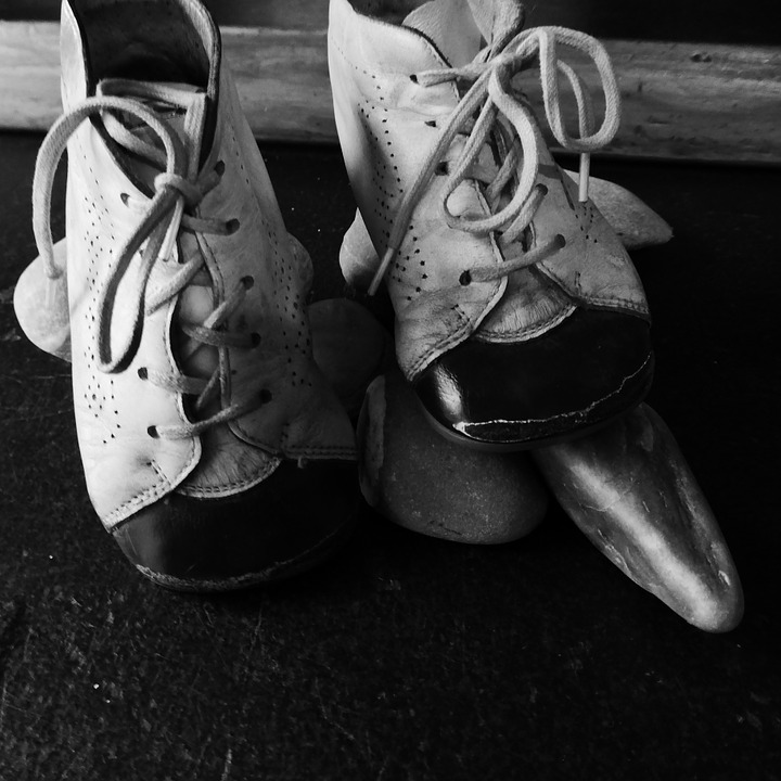 Childhood, Shoe, Shoelace, Leather, Leather Shoes