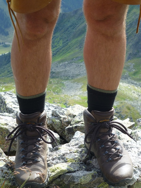 Hiking Shoes, Mountaineering Shoes, Feet, Shoes