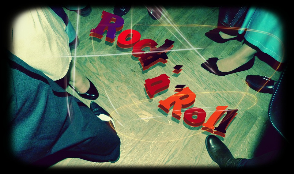 Rock And Roll, Dance, Feet, Shoes, Music